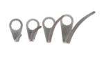 Juego de cuchillas para sacalunas neumatico para BGS 3218 7 piezas