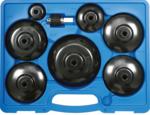 Juego de llaves de filtros de aceite utilitarios 9 piezas