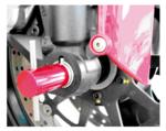Herramienta de alineacion del eje delantero Ducati 30 mm