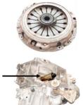 Extractor del eje de liberacian del embrague para Fiat Ducato