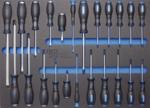 Carro de herramientas 8 cajones con 296 herramientas