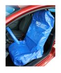 Protector de volante y asiento universal piel sintética