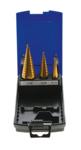 Brocas conicas escalonadas, cobertura de titanio 4-30 mm