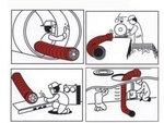 Manguera para el ventilador - 300mm