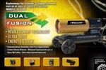 Fusion dual de soplador de aire caliente en diesel de 667 a 834 m³