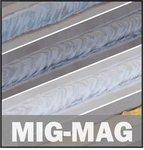 Soldadora inversora mig-mag-flux 150 a - 1.2 mm