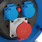 Enrollador de cable garante CEE 1 IP44 30m H07RN-F 5G1,5
