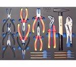 Carro de herramientas Pro Standard Maxi con 263 herramientas
