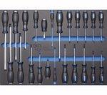 Carro de Herramientas, Pro Standard, con 237 herramientas
