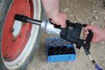 Juego de llaves de vaso de impacto hexagonal, largas entrada 27-50mm 8-piezas