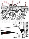 Juego de herramientas de sincronizacion de motor para BMW M42 / M50