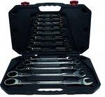 Juego 13 piezas de llaves combinadas con carraca, 8-32 mm