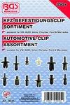 350 piezas Surtido clip Automotive para VW, Audi, Volvo, Chrysler, Ford y Mercedes