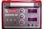 Máquina de soldadura MIG / MAG 880x296x616 mm