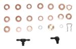 Inyector de sellado surtido de anillo, 551 pcs cobre.