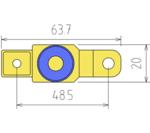 Adaptador de desconexion de la bater a de la motocicleta