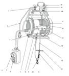 Polipasto eléctrico -PH400-R