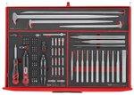 Mega master toolset 417 bandejas de espuma eva