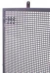 Perfopaneel gris metal 200x94cm