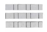 Pesas de balanceo de ruedas | Tipo 363 | 45 g | 100 piezas.