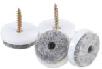 Conjunto de fieltro | con tornillos | Ø 24 mm | 20 piezas