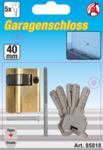 Cilindro de cierre de puerta de garaje 40 mm