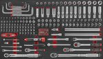 Jumbo Toolwagen 610 piezas (espuma)