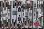 Práctico carrito de herramientas 286 piezas