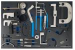 Carro del taller 7 cajones Sistemas de herramientas del tiempo del motor