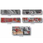 Caja de herramientas de 5 niveles con herramientas de 110 piezas (con aislamiento) (S & M)