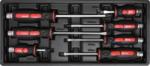 Carro de herramientas 1 puerta lateral 7 cajones con 197 herramientas