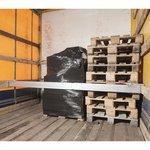 Tabique móvil de sujeción de carga de aluminio 2400-2700 mm