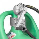 Tanque de gasolina verde 110l, bomba manual