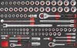 Práctico portaherramientas 208 piezas