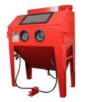 Cabina de chorro de arena 420 litros.