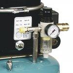 Compresor de aerografo de bajo ruido 8 bar, 9 litros