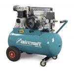 Compresor de aceite accionado por correa 2 cilindros 10 bar - 100 litros