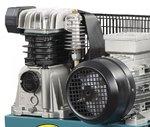 Compresor de aceite accionado por correa 2 cilindros 10 bar - 200 litros
