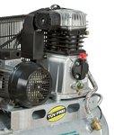 Compresor de aceite accionado por correa caldera galvanizada 10 bar - 100 litros