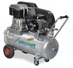 Compresor de aceite accionado por correa, caldera galvanizada de 10 bar, 139 kg - 200 litros