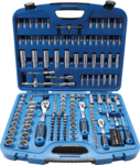 Juego de llaves de vaso Gear Lock entrada 6,3 mm (1/4) 10mm (3/8)/12,5mm (1/2) 192 piezas