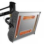 Secador de pintura infrarroja con 4 lámparas
