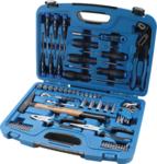Maletín de herramientas de llaves de vaso 67 piezas