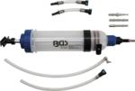 Bomba manual 1500 ml con juego de adaptadores
