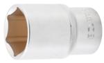Llave de vaso hexagonal, larga entrada 12,5 mm (1/2) 38 mm