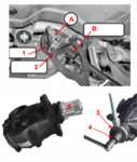 Juego de herramientas para brida del diferencial y tuerca de insercion para BMW