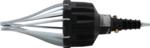 Extractor neumatico de los fuelles de direccion (guardapolvos)