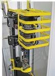 Compresor de resortes en espiral neumatico 1600Kg