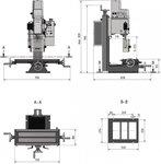 Fresa 280x175x210 mm - el sustituto de la BF20
