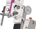 Lectura digital de la taladradora 480x175x370 mm